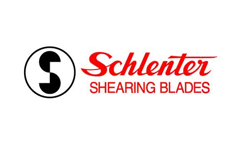 Schlenter shearing blades